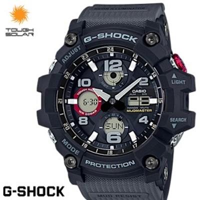 G-SHOCK Gショック MUDMASTER マッドマスター 腕時計 メンズ タフソーラー 海外限定モデル GSG-100-1A8 ブラック グレー