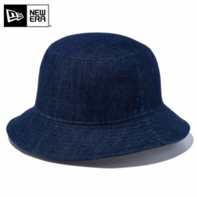 【T】【メーカー取次】 NEW ERA ニューエラ Bucket-01 コットン バケットハット インディゴデニム 12018927 / メンズ レディース 帽子 夏