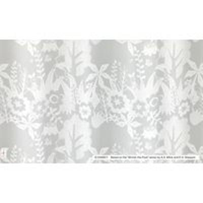 スミノエスミノエ DISNEY ディズニーホーム レースカーテン プー インザウッド M1162 1000×1330mm ホワイト 1枚(直送品)