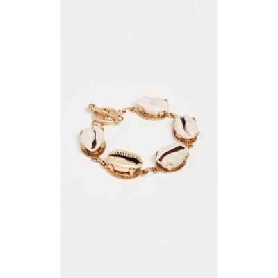 ブリンカー&エリサ Brinker & Eliza レディース ブレスレット ジュエリー・アクセサリー All Summer Long Bracelet Gold/Shell