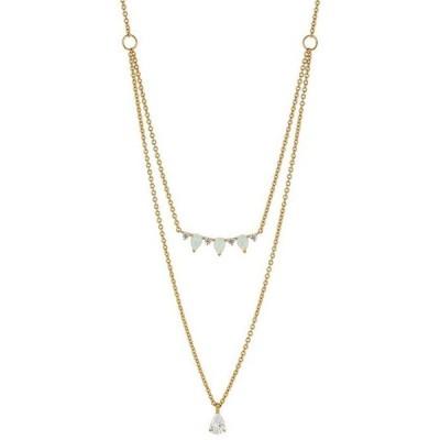 ナディール レディース ネックレス・チョーカー アクセサリー Opal Layered Necklace
