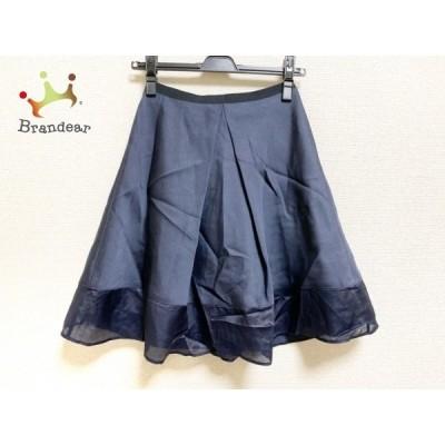 ジャスグリッティー JUSGLITTY スカート サイズ1 S レディース 美品 ダークネイビー     スペシャル特価 20200612