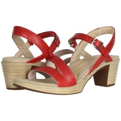 ナオト Naot レディース サンダル・ミュール シューズ・靴 Bounty Kiss Red Leather