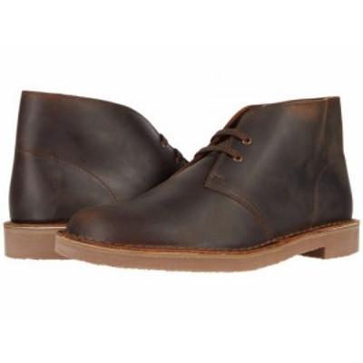 Clarks クラークス メンズ 男性用 シューズ 靴 ブーツ チャッカブーツ Bushacre 3 Dark Brown Leather【送料無料】