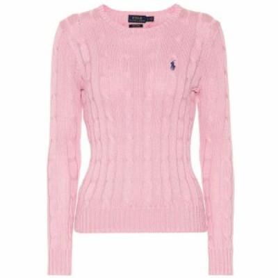 ラルフ ローレン Polo Ralph Lauren レディース ニット・セーター トップス Pima cotton cable-knit sweater pink