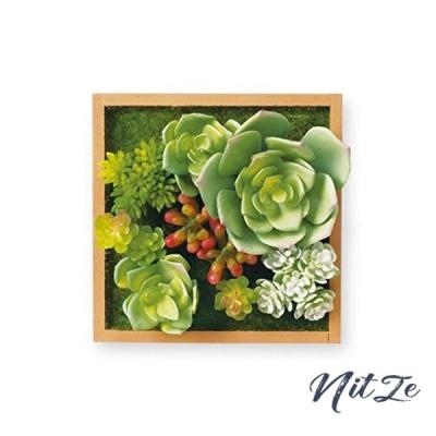 キシマ 人工観葉植物 Natural Natural:W12D7.5H12cm、Brown:W12D8H12cm