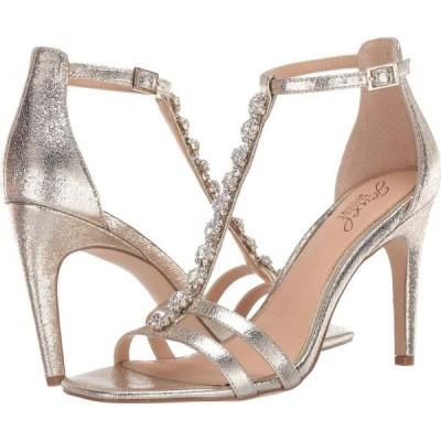バッジェリー ミシュカ Jewel Badgley Mischka レディース サンダル・ミュール シューズ・靴 Farida Light Gold