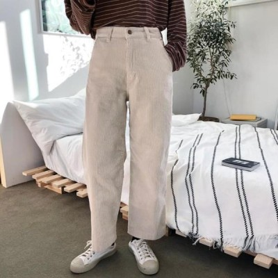 monodaily レディース パンツ Cream Corduroy Pants