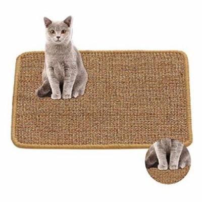 猫用スクラッチパッド、猫用スクラッチマット、100%天然サイザル猫用猫用 (新古未使用品)