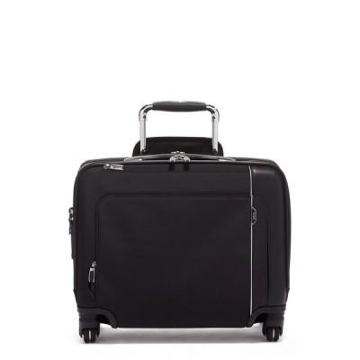 トゥミ TUMI メンズ スーツケース・キャリーバッグ バッグ Arrive Compact Wheeled Briefcase Black