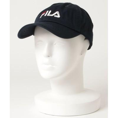 nano・universe / FILA/:FLS 096 LINEAR LOGO LOW CAP MEN 帽子 > キャップ