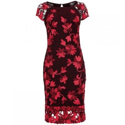 フェイズ エイト Phase Eight レディース ワンピース ワンピース・ドレス Chrissy Tapework Dress Claret