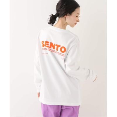 レディース ジョイントワークス 【SENTO FOREVER×JW】ロングスリーブ TEE ホワイト XL