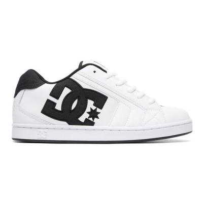カジュアルシューズ ディーシーシューズ DC Shoes Net SE Shoes 302297 WHITE/WHITE/BLACK
