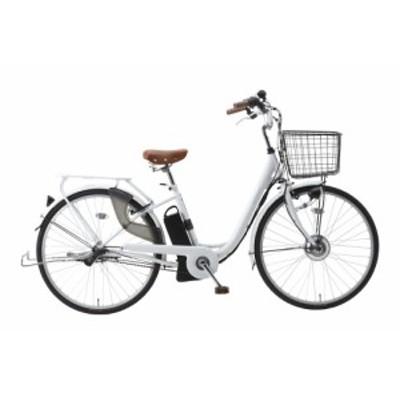SUISUI 26インチ電動アシスト軽快車 3段変速 BM-P10WH ホワイト 自転車 365 ミムゴ おすすめ 通勤 通学 シティーサイクル