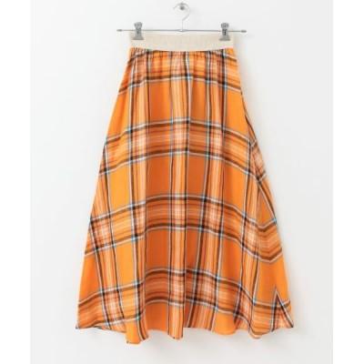 URBAN RESEARCH DOORS/アーバンリサーチ ドアーズ 【別注】O'NEIL OF DUBLIN×DOORS Check Swing Skirt LODERL 8