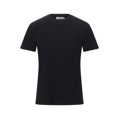 BOLONGARO TREVOR T シャツ ブラック S コットン 95% / ポリウレタン 5% T シャツ