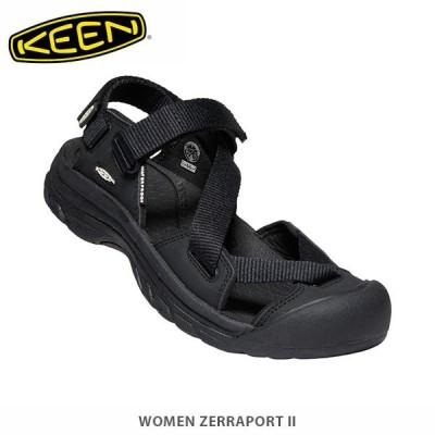 KEEN キーン サンダル レディース ゼラポート ツー 1022500 Black×Black WOMEN ZERRAPORT II KEE02341022500 国内正規品
