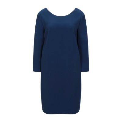 ROSSOPURO ミニワンピース&ドレス ダークブルー L ポリエステル 93% / ポリウレタン 7% ミニワンピース&ドレス