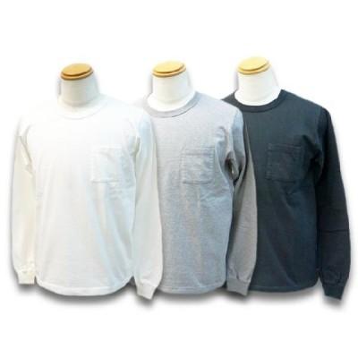 全3色FULLCOUNT/フルカウント2020AW「Basic Pocket L/S Tee/ベーシックポケットロングスリーブTee」(5805L)対