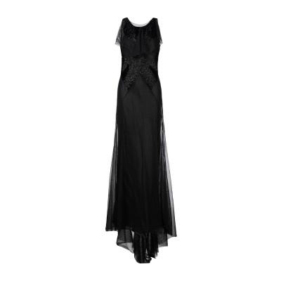 メゾン マルジェラ MAISON MARGIELA ロングワンピース&ドレス ブラック 46 コットン 100% ロングワンピース&ドレス