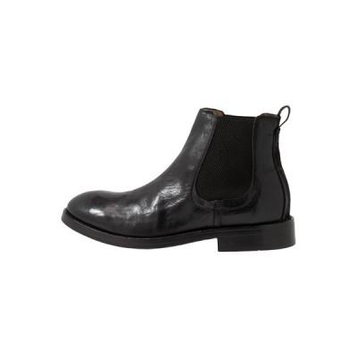 ハドソンロンドン ブーツ&レインブーツ メンズ シューズ WISTMAN - Classic ankle boots - black