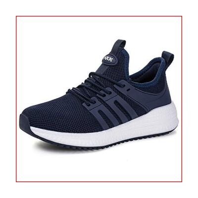 Akk Non Slip Walking Shoes for Women - Slip on Sneakers Lightweight Fashion Casual Tennis Shoes Navy Blue US 10/EU 41【並行輸入品】