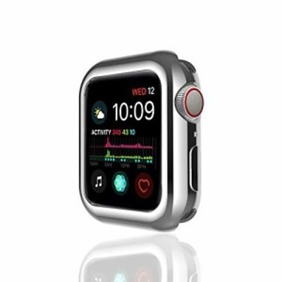 【新品・送料無料】apple watch 44mm ケース TPU 超薄型 着装まま充電可能 耐衝撃 アップルウォッチ4 カバー Apple Watch Series4専用 精
