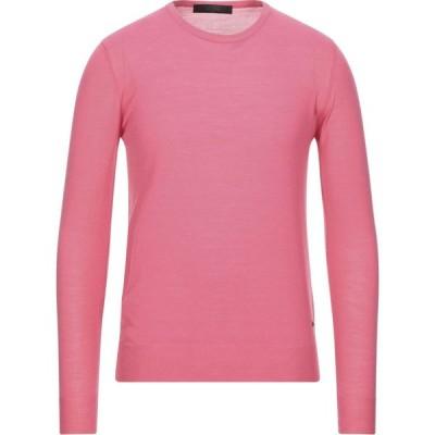 リウジョー LIU JO MAN メンズ ニット・セーター トップス sweater Fuchsia