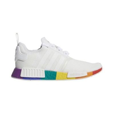 (取寄)アディダス メンズ スニーカー シューズ  オリジナルス NMD R1 プライド  Men's Shoes adidas Originals NMD R1 Pride  White White White