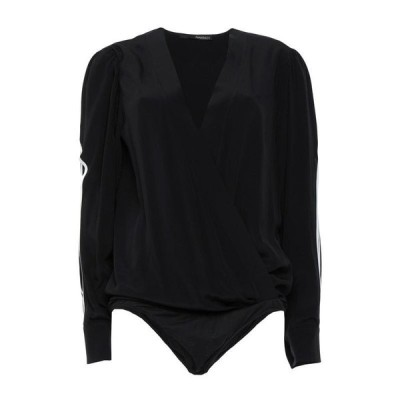 ANNARITA N ブラウス ファッション  レディースファッション  トップス  シャツ、ブラウス  長袖 ブラック