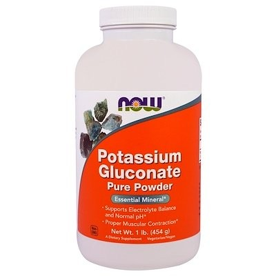 Potassium Gluconate Pure Powder、1ポンド(454 g)
