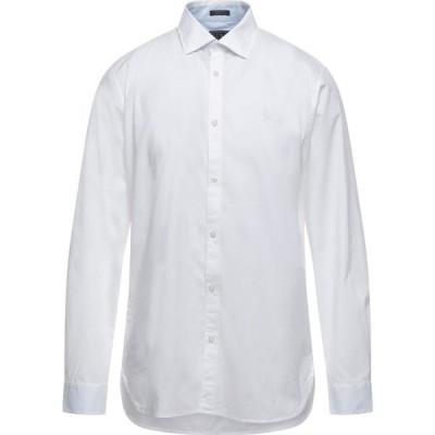 ゲス GUESS メンズ シャツ トップス Solid Color Shirt White
