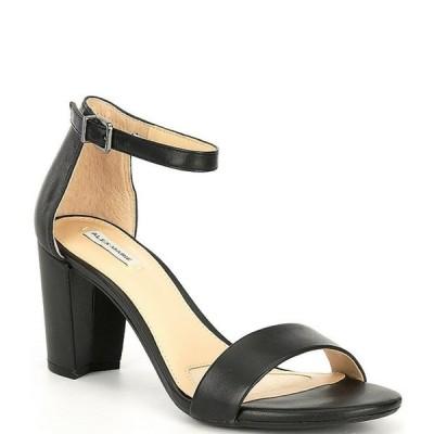 アレックスマリー レディース サンダル シューズ Halmar Ankle Strap Leather Block Heel Sandals
