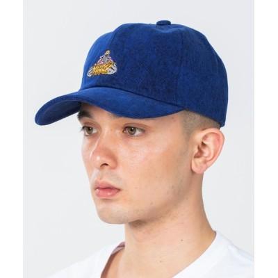 XLARGE / OVERDYED DENIM 6PANEL CAP MEN 帽子 > キャップ