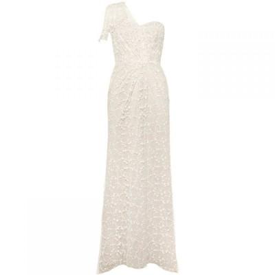 フェイズ エイト Phase Eight レディース ワンピース ワンピース・ドレス Anabel Lace One Shoulder Bridal Dress Cream