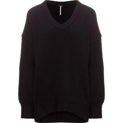 フリーピープル Free People レディース チュニック トップス Brookside Tunic Sweater Black