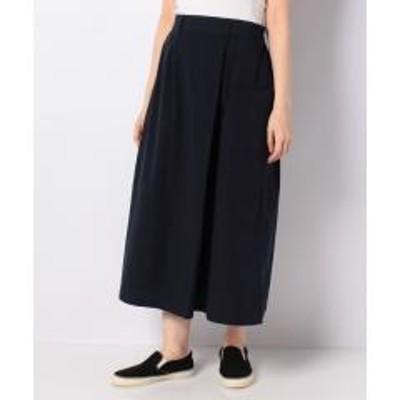 SM2(サマンサモスモス)【SM2】リネン混巻き風スカート
