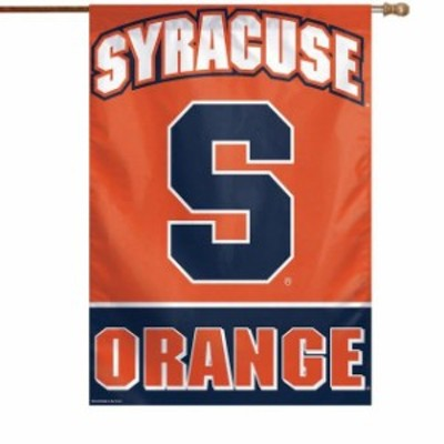 WinCraft ウィンクラフト スポーツ用品  WinCraft Syracuse Orange 28 x 40 Full Name Single-Sided Vertical Banner