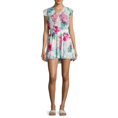 シックスショアロード ワンピース トップス レディース 6 Shore Road Georgica Floral Printed Dress ivory multicolor