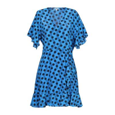 ケンゾー KENZO ミニワンピース&ドレス ブルー 36 シルク 100% ミニワンピース&ドレス