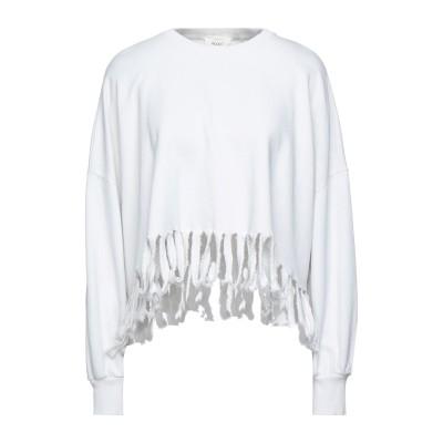 VICOLO スウェットシャツ ライトグレー one size コットン 100% スウェットシャツ