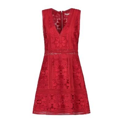 アリス・アンド・オリビア ALICE + OLIVIA ミニワンピース&ドレス レッド 2 ポリエステル 100% ミニワンピース&ドレス