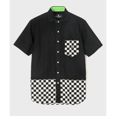 シャツ ブラウス Checker Bunny 半袖シャツ