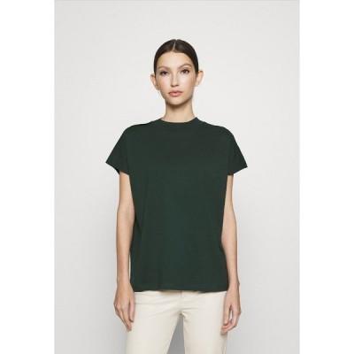 ウィークデイ Tシャツ レディース トップス PRIME - Basic T-shirt - bottle green