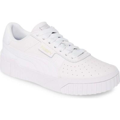 プーマ PUMA レディース スニーカー シューズ・靴 Cali Sneaker Puma White/Puma White