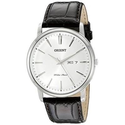 オリエント Orient 腕時計 時計 Orient Men's FUG1R003W0 Capital Analog-Display Japanese Quartz Brown Watch