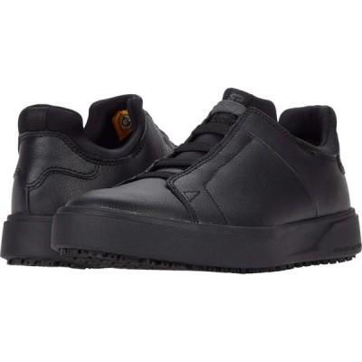 キャピタラー カジュアル Caterpillar メンズ シューズ・靴 ProRush SR+ Stretch Black Action Leather