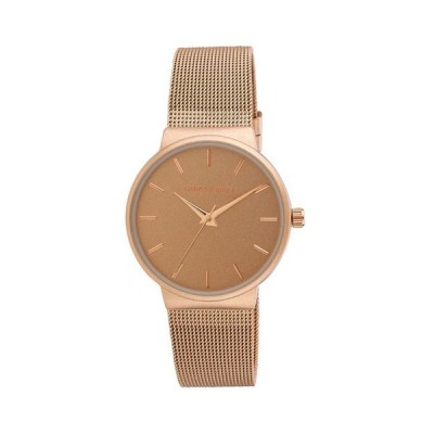 ローラアシュレイ レディース 腕時計 アクセサリー Ladies' Rose Gold Minimalist Mesh Band Watch