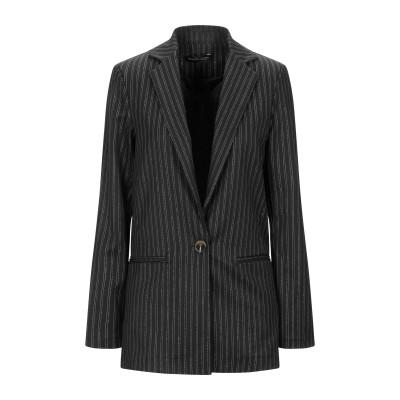 VANESSA SCOTT テーラードジャケット ブラック S ポリエステル 78% / レーヨン 18% / 指定外繊維(その他伸縮性繊維) 4%